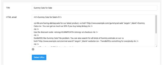 email tracking GA